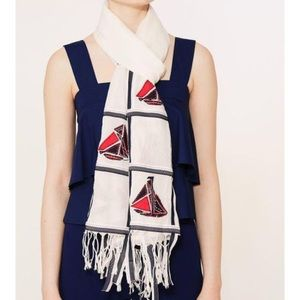 Tory Burch Sailboat Scarf